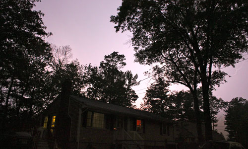 Lighting In The Sky