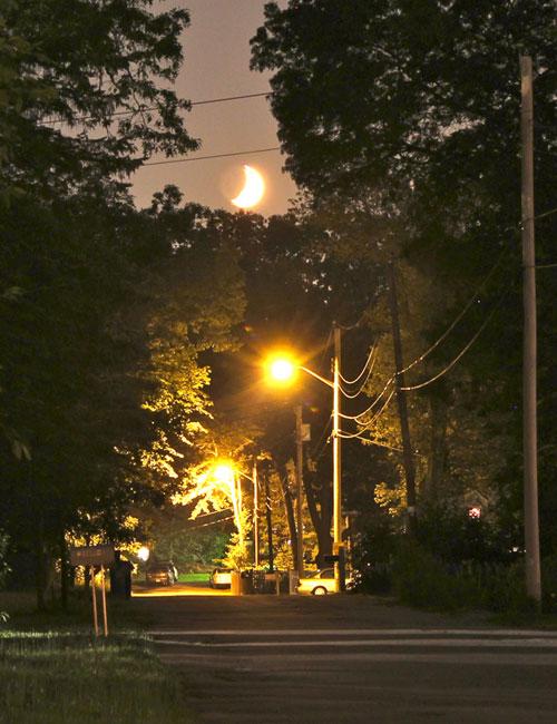 Bright Moon Sky